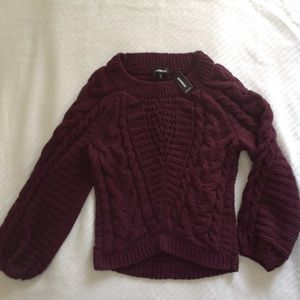 NWT Express Cable Knit Sweater in Small